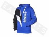 Sweat-shirt à capuche YAMAHA Paddock bleu 2016 Homme paddock yamaha