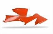 Ouïes de radiateur Polisport orange 85 SX 2009-2012 plastique polisport