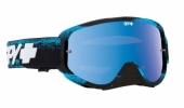 LUNETTES SPY Woot Race  Masked bleu écran AFC miroir bleu lunettes
