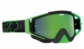 LUNETTES SPY Omen verte  Highlighter écran AFC miroir vert lunettes