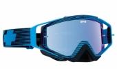 LUNETTES SPY Omen Blue Flash écran AFC miroir bleu lunettes