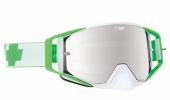 LUNETTES SPY Ace Mc Grath verte écran AFC miroir argent lunettes