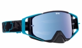LUNETTES SPY Ace Highlighter noir/bleu écran AFC miroir bleu lunettes