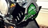 Sabot GP AXP noir PHD Kawasaki 450 KX-F 2016-2017 sabots axp