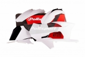 Kit plastiques Polisport blanc KTM 250 SX-F 2011 plastique polisport
