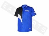 Chemise manches courtes YAMAHA Paddock bleu 2016 Homme paddock yamaha