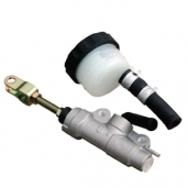 Maître-cylindre de frein arrière quad Ø12 argent Nissin maitre cylindre nissin