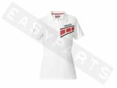 Polo YAMAHA Classic 2016 blanc Femme paddock yamaha