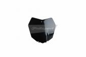 Plaque numéro frontale Polisport noir 450 SX-F 2013-2015 plastique polisport