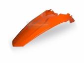 Garde-boue arrière Polisport orange 125 EX-C 2012-2016 plastique polisport