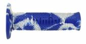 Revêtements de poignée Domino Snake bleu/blanc revetements