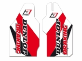 Kit déco protection de fourche Blackbird Honda 250 CR-F 2010-2016                   Kit déco protection de fourche
