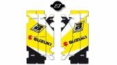 Kit déco de grille de radiateur Blackbird SUZUKI 250 RM 2001-2009 kit deco radiateur