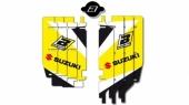 Kit déco de grille de radiateur Blackbird SUZUKI 250 RM-Z 2010-2016 kit deco radiateur