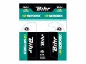 Kit de déco de fourche Bihr/Motorex KUTVEK KTM 85 SX 2004-2016 Kit déco protection de fourche