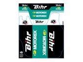 Kit de déco de fourche Bihr/Motorex KUTVEK SUZUKI 250 RM 2004-2016 Kit déco protection de fourche
