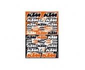 DECAL LOGO KIT KTM  planche auto collants