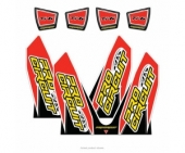 stickers echapement pro circuit TI-6 DOUBLE SORTIE HONDA 450 CR-F Stickers echappement