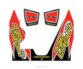 stickers echapement pro circuit T-6 YAMAHA 450 YZ-F Stickers echappement