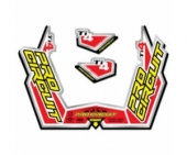 stickers echapement pro circuit TI4-GP Stickers echappement
