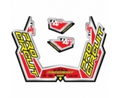 stickers echapement pro circuit TI4-R Stickers echappement