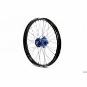 Roue avant complète A.R.T 21x1.60 jante noire/moyeu bleu Husqvarna FE/TE 125 et + 2014-2015 roues completes