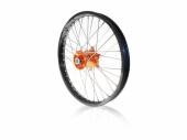 Roue arrière complète A.R.T 19x1.85 jante noire/moyeu orange KTM SX/SX-F 125 et +2003-2012 roues completes