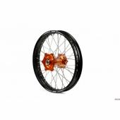 Roue arrière complète A.R.T 18x2.15 jante noire/moyeu orange KTM EXC/EXC-F 125 et + 1995-2020 roues completes