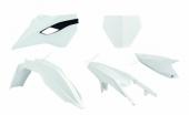 Kit plastiques Racetech couleur origine blanc Husqvarna 250 TC 2014-2015 kit plastiques racetech