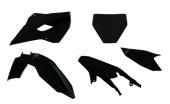 Kit plastiques Racetech noir Husqvarna 250 TC 2014-2015 kit plastiques racetech