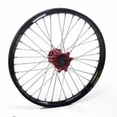 Roue Avant Haan Wheels  jante noire/moyeu rouge Beta 250/300 RR 2T 2013-2016 roues completes