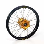 Roue Arrière Haan Wheels  jante noire/moyeu or Beta 250-300 RR 2T 2013-2016 roues completes