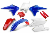 KIT PLASTIQUE CYCRA BLEU/BLANC/ROUGE 450 YZ-F 2014-2016 kit plastique cycra powerflow