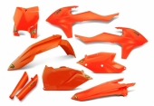 KIT PLASTIQUE CYCRA ORANGE 125 SX 2016-2017 kit plastique cycra powerflow