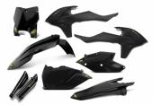 KIT PLASTIQUE CYCRA NOIR 125 SX 2016-2017 kit plastique cycra powerflow