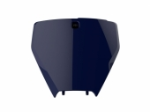 Plaque numéro frontale POLISPORT bleu Husqvarna 250 TC 2016 plastique polisport