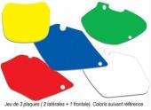 jeu fond de plaque plaques laterales + plaque frontal 150 SX 2013-2016 fond de plaque
