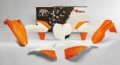 Kit plastique Recetech couleur origine 2015 KTM 150 SX 2013-2015 kit plastiques racetech