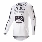 Maillot Cross ALPINESTARS Racer Supermatic  NAVY/BLANC/TEAL 2019 maillots pantalons