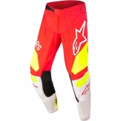 Pantalon Cross ALPINESTARS Techstar Factory ORANGE FLUO/DARK BLUE/WHITE maillots pantalons
