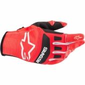 Gants Cross ALPINESTARS Aviator bleu/orange fluo 2018 gants