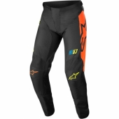 Pantalon ALPINESTARS CROSS Racer Braap noir/blanc/rouge 2018 maillot pantalon kids
