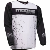 MAILLOT MOOSE RACING QUALIFER NOIR / GRIS / BLANC 2019 maillots pantalons