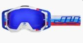 LUNETTES   JUST1 Iris M2 bleu/rouge/blanc lunettes
