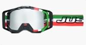 LUNETTES  JUST1 Iris Italia vert/blanc/rouge lunettes