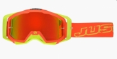 LUNETTES JUST1 Iris Neon rouge/jaune lunettes