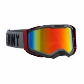 LUNETTES KENNY  TITANIUM  GRIS MAT / ROUGE 2019 lunettes