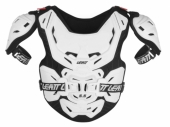 Pare-pierre MOTO CROSS LEATT 5.5 Pro junior blanc protections kids