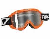 LUNETTE FIRST RACING CHROMATIK ORANGE FLUO ECRAN CLAIR lunettes