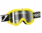 LUNETTE FIRST RACING CHROMATIK JAUNE/FLUO ECRAN CLAIR lunettes